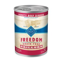 Grillers Hearty Beef Dinner Canned Dog Food 12.5oz