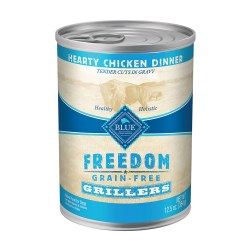 Grillers Hearty Chicken Dinner Canned Dog Food 12.5oz