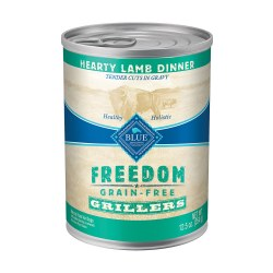 Grillers Hearty Lamb Dinner Canned Dog Food 12.5oz