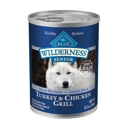 Turkey & Chicken Grill Senior Canned Dog Food 12.5oz