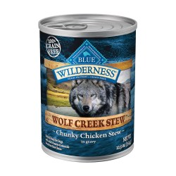 Wolf Creek Chunky Chicken Stew Canned Dog Food 12.5oz