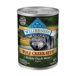 Wolf Creek Hearty Duck Stew Canned Dog Food 12.5oz