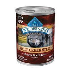 Wolf Creek Hearty Beef Stew Canned Dog Food 12.5oz