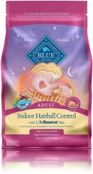 Indoor Hairball Control Dry Cat Food 3lb