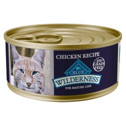 Chicken Recipe Mature Canned Cat Food 5.5oz