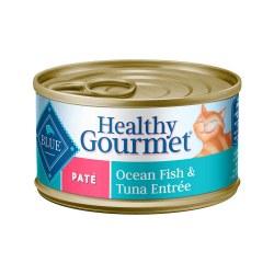 Healthy Gourmet Ocean Fish & Tuna Entrée Canned Cat Food 3oz