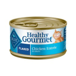 Healthy Gourmet Flaked Chicken Entrée Canned Cat Food 3oz