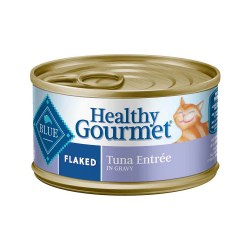 Healthy Gourmet Flaked Tuna Entrée Canned Cat Food 3oz