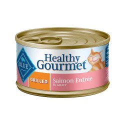 Healthy Gourmet Grilled Salmon Entrée Canned Cat Food 3oz