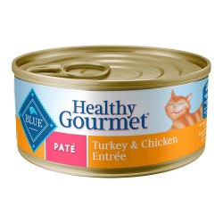 Healthy Gourmet Turkey & Chicken Entrée Canned Cat Food 5.5oz