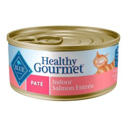Healthy Gourmet Indoor Salmon Entrée Canned Cat Food 5.5oz