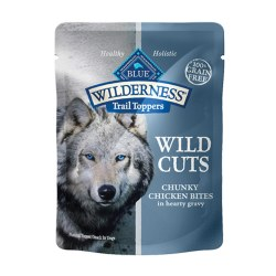 Trail Toppers Wild Cuts Chunky Chicken Bites Dog Meal Topper 3oz