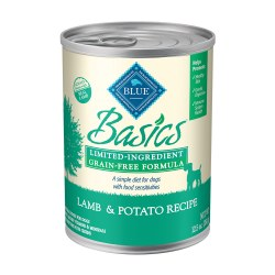 Grain Free Lamb & Potato Recipe Canned Dog Food 12.5oz