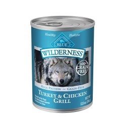 Turkey & Chicken Grill Canned Dog Food 12.5oz