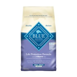 Fish & Brown Rice Recipe Small Breed Dry Dog Food 6lb
