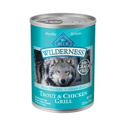 Trout & Chicken Grill Canned Dog Food 12.5oz