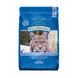 Indoor Chicken Recipe Dry Cat Food 11lb