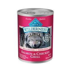 Salmon & Chicken Grill Canned Dog Food 12.5oz
