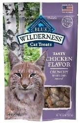 Tasty Chicken Flavor Crunchy Cat Treats 2oz