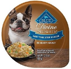 Divine Delights New York Strip Canned Dog Food 3.5oz