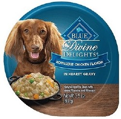 Divine Delights Rotisserie Chicken Canned Dog Food 3.5oz