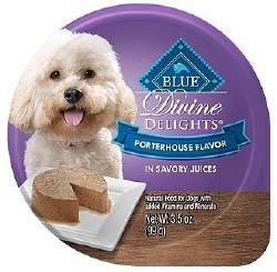 Divine Delights Porterhouse Canned Dog Food 3.5oz