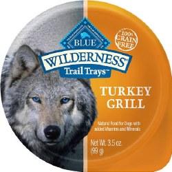 Trail Trays Turkey Grill Dog Meal Topper 3.5oz