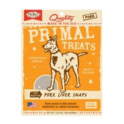 Dry Roasted Pork Liver Snaps Dog Treats 4.25oz