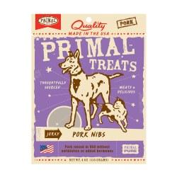 Jerky Pork Nibs Dog and Cat Treats 4oz