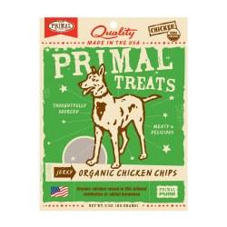 Jerky Organic Chicken Chips Dog Treats 3oz