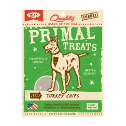 Jerky Turkey Chips Dog Treats 3oz