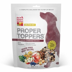 Proper Toppers Grain Free Beef Superfood for Dogs 5.5oz