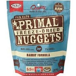 Nuggets Rabbit Formula Raw Freeze Dried Cat Food 14oz