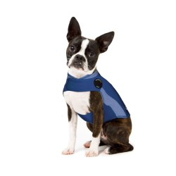 Thundershirt Calming Vest for Dogs Blue Polo X-Small