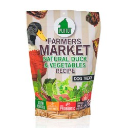 Farmers Market Duck & Vegetables Dog Treats 14.1oz