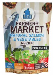 Farmers Market Salmon & Vegetable Dog Treats 4oz