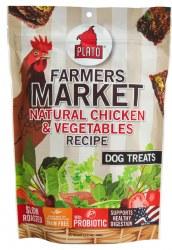 Farmers Market Natural Chicken & Vegetables Dog Treats 4oz