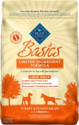 Turkey & Potato Recipe Large Breed Dry Dog Food 24lb