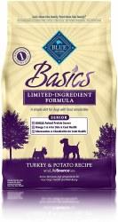 Turkey & Potato Recipe Senior Dry Dog Food 4lb