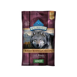 Rocky Mountain Bison Recipe Dry Dog Food 22lb