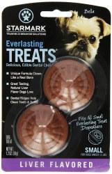 Original Everlasting Liver Dental Dog Chews Small