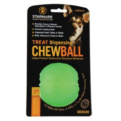 Treat Dispensing Chew Ball Dog Toy Small