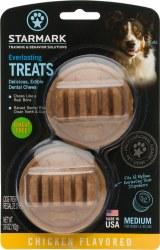 Everlasting Chicken with Dental Ridges Dog Treats Medium