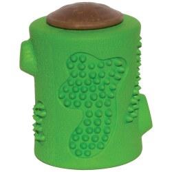 RubberTuff Treat Stump Dog Toy Small