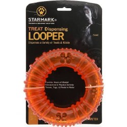 Treat Dispensing Looper Dog Toy 6in