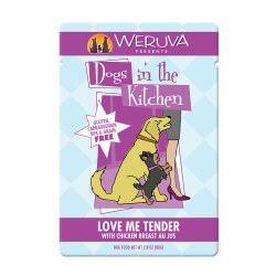 Dogs in the Kitchen Love Me Tender Dog Food Pouch 2.8oz