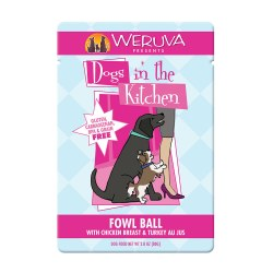 Dogs in the Kitchen Fowl Ball Dog Food Pouch 2.8oz