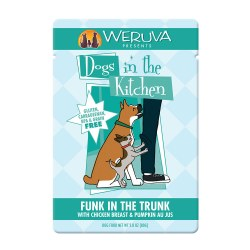 Dogs in the Kitchen Funk In The Trunk Dog Food Pouch 2.8oz