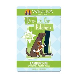 Dogs in the Kitchen Lamburgini Dog Food Pouch 2.8oz