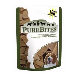 Beef Liver Dog Treats 2oz